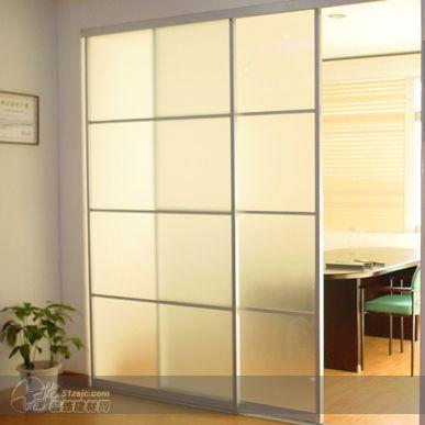 卧室玻璃拉门图片_卧室玻璃拉